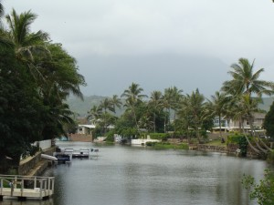 Kaelepulu Stream in Kailua