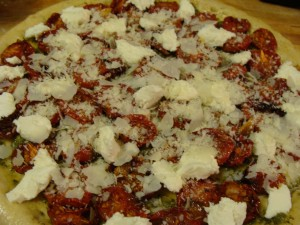 Paremesan Cheese Pizza Recipe