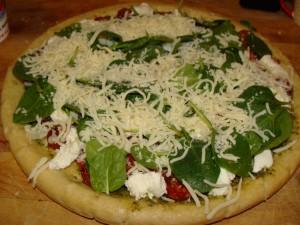 Mozarella Cheese Pizza Recipe