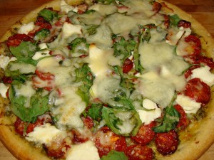 Roasted Tomato Pizza Recipe