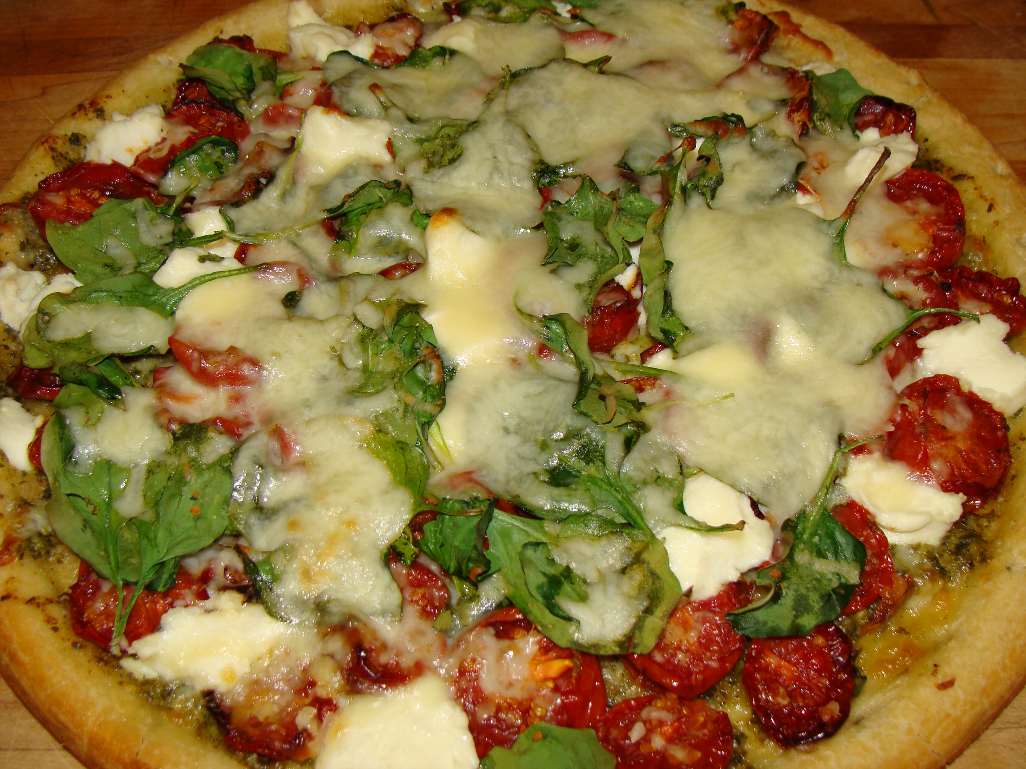 Roman-Style Pizza With Roasted Cherry Tomatoes And Cheese Recipe ...