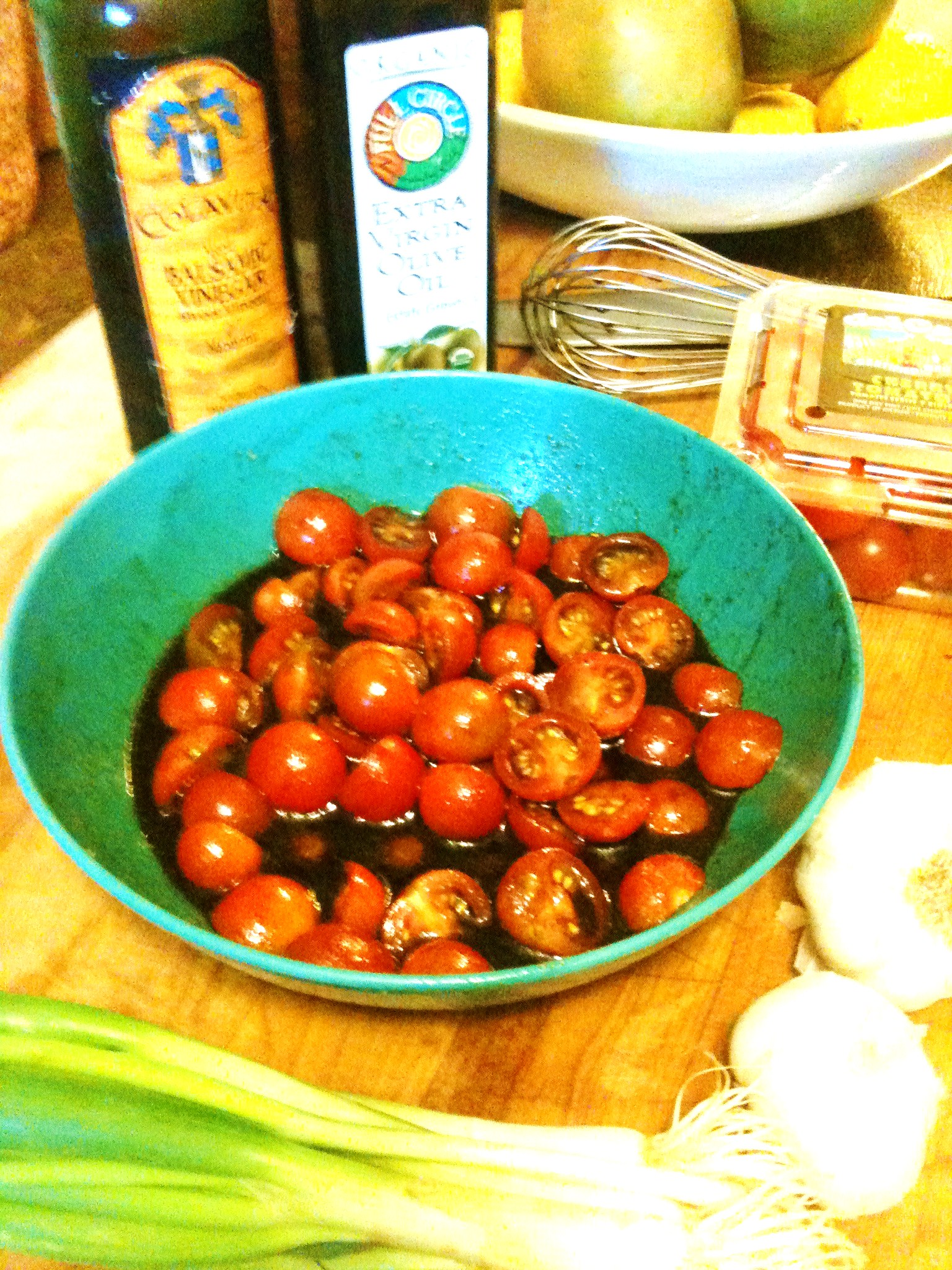 Balsamic Marinated Cherry Tomatoes « The Weekend Gourmet